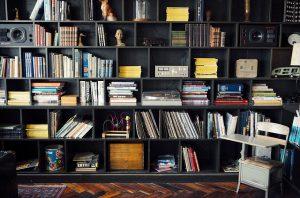 Bookshelf writing resources