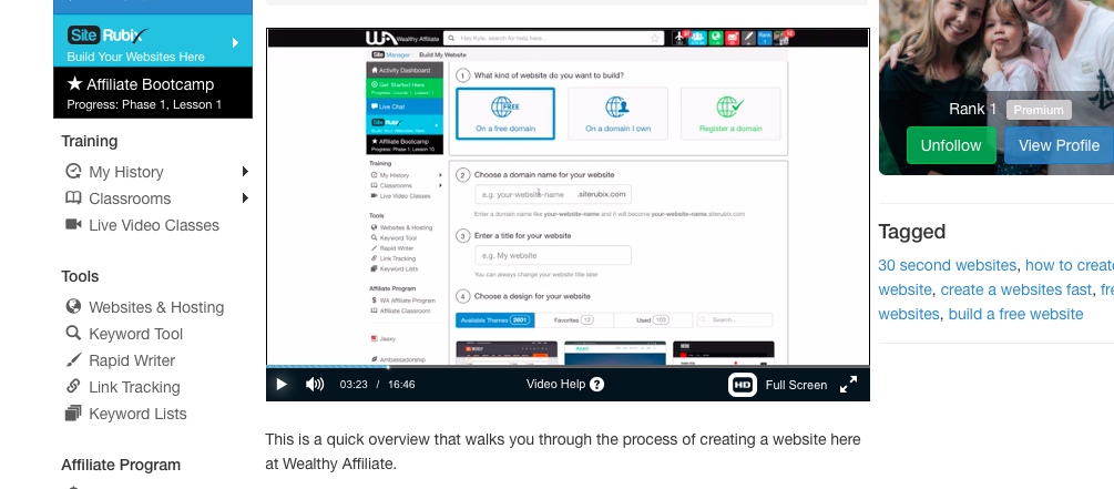 How to Create a Website in under 30 seconds