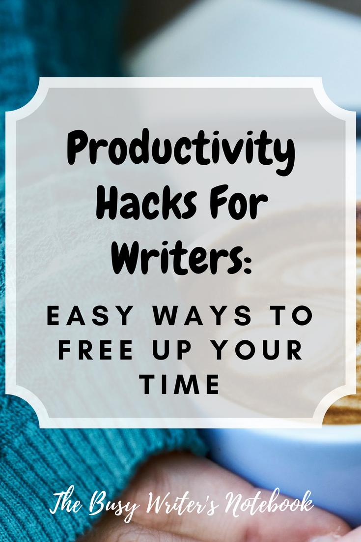Writing Productivity Hacks