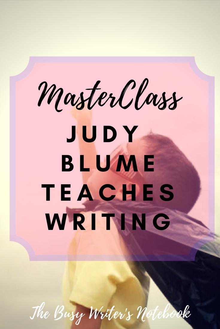 Judy Blume MasterClass Review