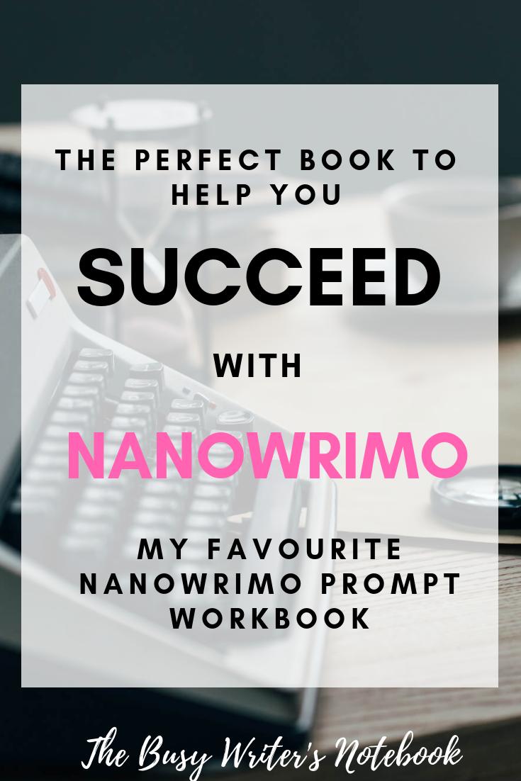 NaNoWriMo Writing Prompts My Favourite NaNoWriMo Workbook