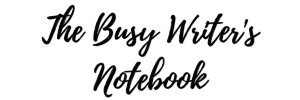 The Busy Writers Notebook LGE