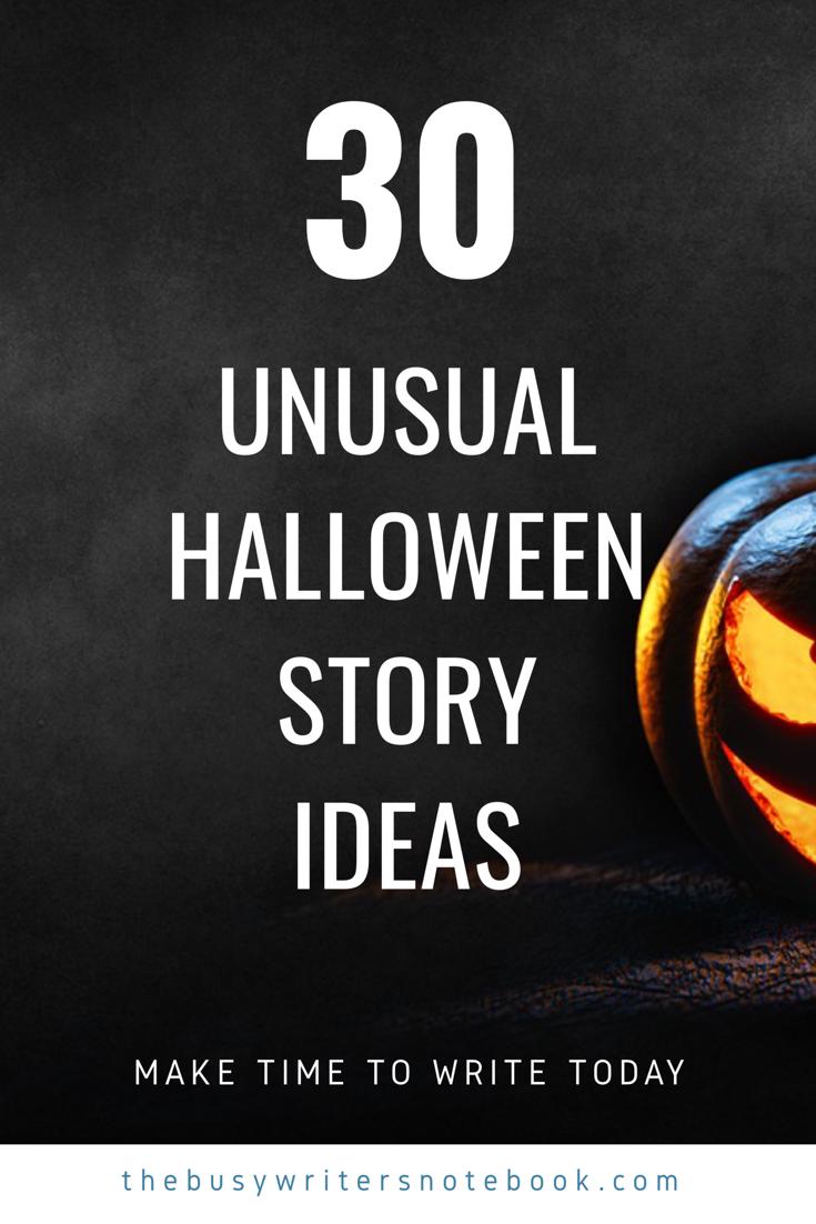 30 Unusual Halloween Prompts